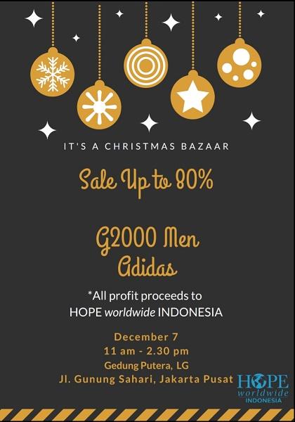 Bazar Natal HOPE