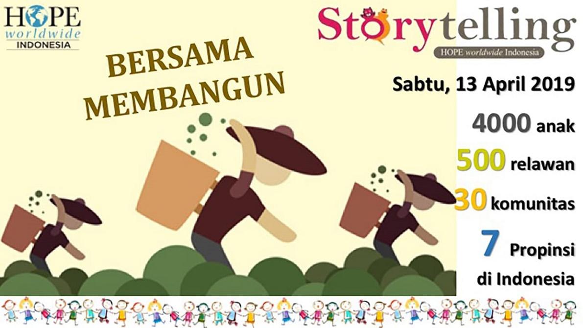 Mari Mulai Membacakan Cerita Untuk Anak-Anak Kita