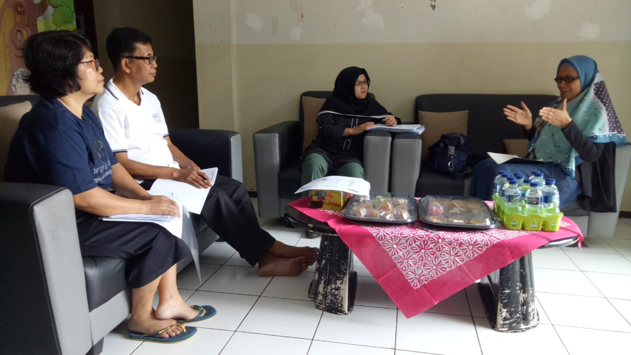 Kunjungan Kementrian & Dinas Sosial